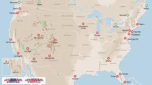 United States Road Trip Map by Large C 30 Cruise America Motorhome Rent A Motorhome In Usa Kilroy