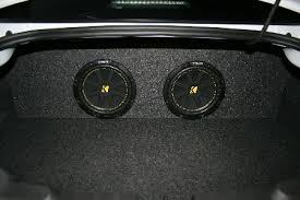 camaro speaker box 2010 to 2014 chevrolet camaro coupe dual subwoofer enclosure