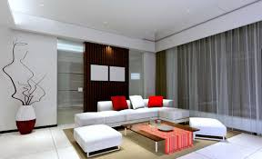 contemporary living room interior design for terrace house o