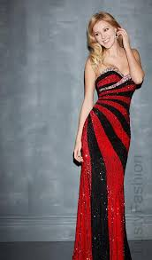 red and black prom dress 2015 lustyfashion