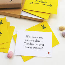 Easter Scavenger Hunt Personalised Easter Treasure Hunt By Love Give Ink