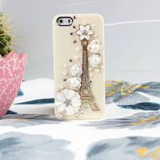 Eiffel Tower Accessories Buy Diyouth New Arrival Flower Eiffel Tower Case For Iphone Diyc