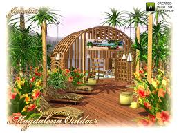 Sims 3 Garden Ideas Jomsims Magdalena Outdoor Elements And Plants