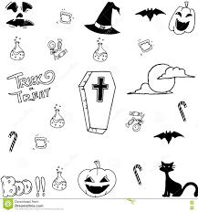 free halloween vector art doodle art halloween vector stock vector image 73356740