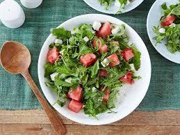 barefoot contessa arugula salad arugula watermelon and feta salad recipe ina garten food network