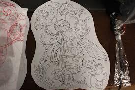 mechanic tattoo drawing joshua u0027s original mechanical bee drawing derek broox com