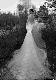 wedding dresses mermaid sleeve high neck lace see through back trumpet mermaid