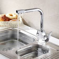 purifier drinking water tap kitchen faucet with 2 outlet square