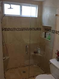Shower Glass Door Shower Doors San Clemente Frameless Shower Glass San Clemente