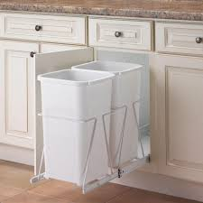 kitchen cabinet garbage can cabinet under kitchen sink garbage can best trash bins ideas