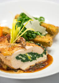 cuisine farce chicken updates roasted chicken breast stuffed with leek and