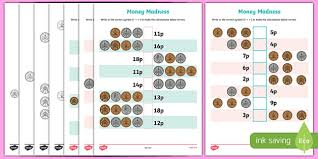 money u0026 coins primary resources ks1 currency page 1