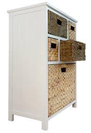 White Wicker Bathroom Storage by Tetbury Storage Unit Large Chest Of Drawers Storage Baskets