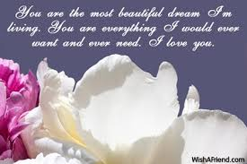 you are the most beautiful message for