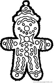 gingerbreadman coloring page delicious gingerbread man color page christmas coloring pages