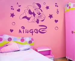 Minnie Mouse Bed Room by Home Design Minnie Mouse Bedroom Decor Ideas Amp Decors In Wall