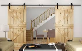 sliding barn door kit system u2013 home design ideas