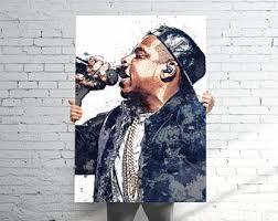 Splash Home Decor Jay Z Decor Etsy