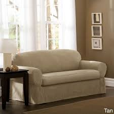 2 piece t cushion sofa slipcover best 25 sofa slipcovers ideas on pinterest slipcovers chair