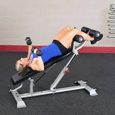 Commercial Sit Up Bench Body Solid Pro Club Line Sab500 Commercial Ab Bench Adjustable Sit