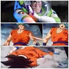 Buzz Lightyear Memes - goku vs buzz lightyear goku vs laser know your meme