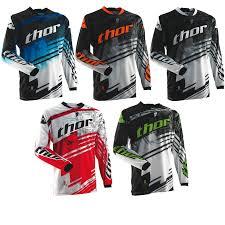 green motocross gear thor 2014 phase s14 swipe mx race shirt moto x enduro off road