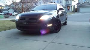 2010 ford taurus aftermarket tail lights looking for an aftermarket black mesh grille 2010 2012 sho taurus