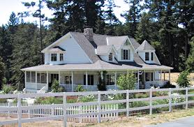 one or two story craftsman house plan country new farmhouse home
