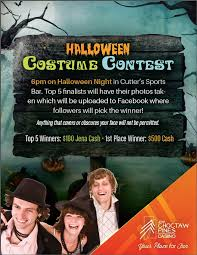 Fun Things To Do On Halloween Night Jena Choctaw Pines Casino Halloween Costume Contest Things To Do