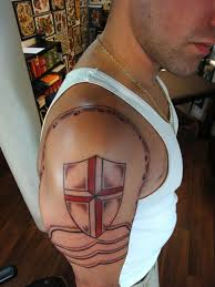 tattoo designs knights templar 25 powerful shield tattoo designs