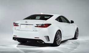 lexus new 2015 2015 lexus rc 350 f sport revealed with wild gt3 concept slashgear