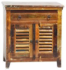 nantucket reclaimed wood large nightstand rustic nightstands
