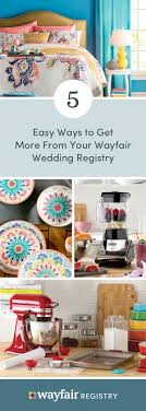 wayfair wedding registry registering for your wedding just became so much easier thanks to