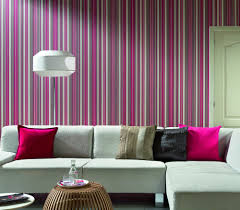 elegant strip wallpaper living room design hupehome