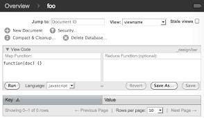 couchdb design document editor creating views in couchdb futon vic metcalfe