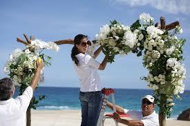 Wedding Arches Beach Elena Damy Jena U0026 Chase U0027s Intimate Beach Wedding Elena Damy