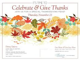 cap cana upcoming events celebrate give thanks