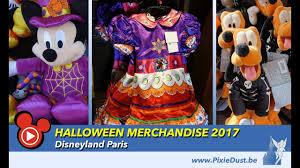 merchandise halloween 2017 at disneyland paris youtube