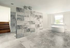 Tile Designs For Bathroom Floors Agreeable Design Ideas Using Rectangular Black Wooden Stacking