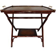 Maitland Smith Lamp Shades by Vintage Maitland Smith Serving Bamboo Table Tray Chairish