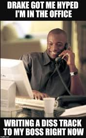 Office Work Memes - black man at work imgflip