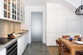 modern spanish kitchen mid century spanish duplex small spaces