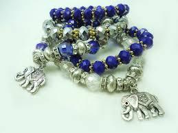 charm bracelet with beads images Arya crystal beads charm bracelet hautecorals jpg