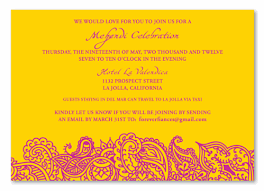 mehndi card mehendi recycled insert cards bombay by foreverfiances weddings