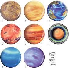 amazon com planet plates set eight 10 inch melamine astronomy