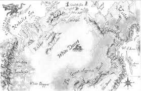 Desert Map White Desert Map By Vladimiravich On Deviantart