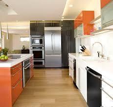orange kitchen design 25 stylish ideas ideasdesign interior