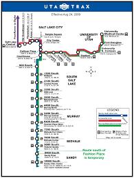 Salt Lake City Map Salt Lake City Light Rail Map Map U2022 Mapsof Net