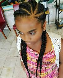 summer style feed in cornrows by lakaria give your hair a break