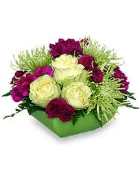 Lime Green Flowers - lime green touch of class flower arrangement spring flowers